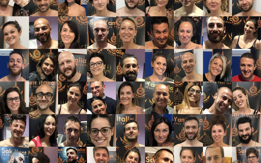 Sak Yant Italia, la community italiana del Sak Yant